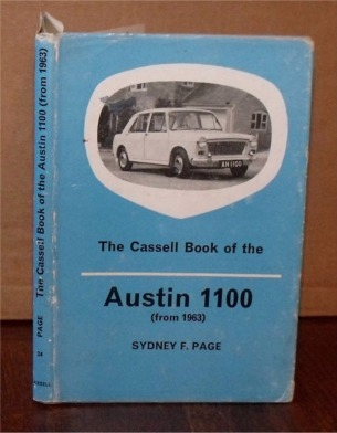Image for The Cassell Book of the Austin 1100 (from 1963).