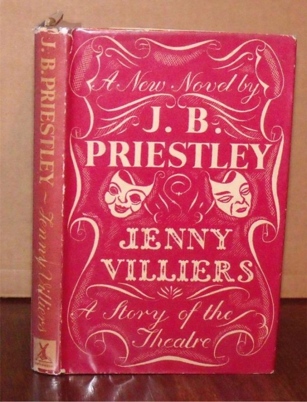 Image for Jenny Villiers. The Story of the Teatre. A New Novel.