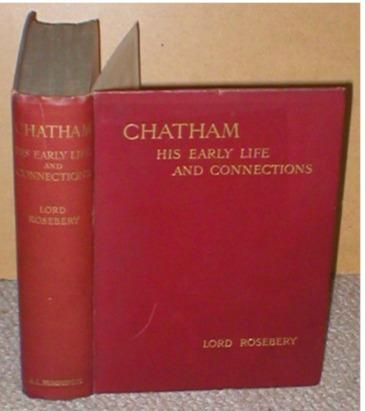 Image for Chatham His Early Life and Connections