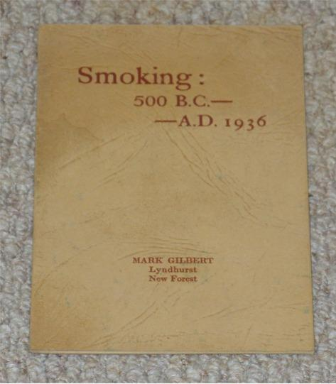 Image for Smoking: 500B.C. - A.D.1936