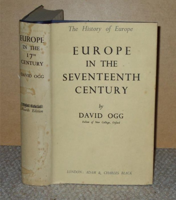 Image for Europe in the Seventeenth Century. The History of Europe.