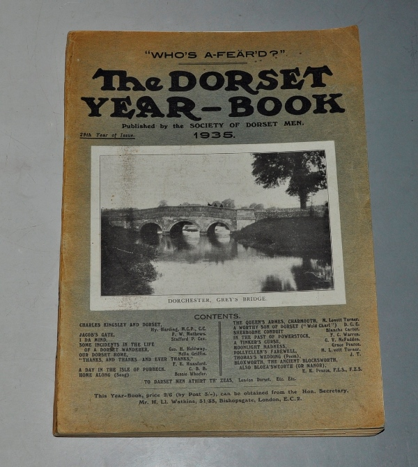 Image for The Dorset Year Book, for 1935.
