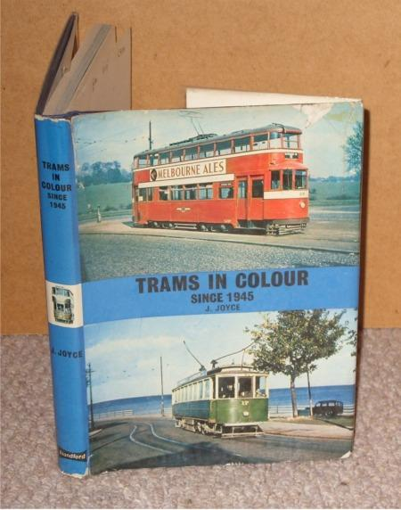 Image for Trams in colour since 1945.