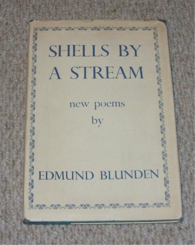 Image for Shells by a Stream. New poems.