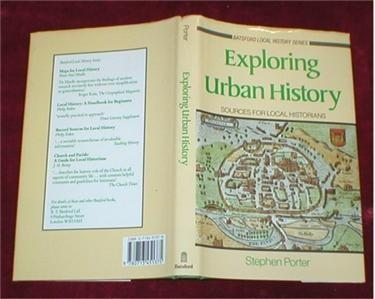 Image for Exploring Urban History. Sources for Local Historians.