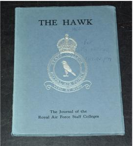 Image for THE HAWK The Journal of the Royal Air Force Staff Colleges.