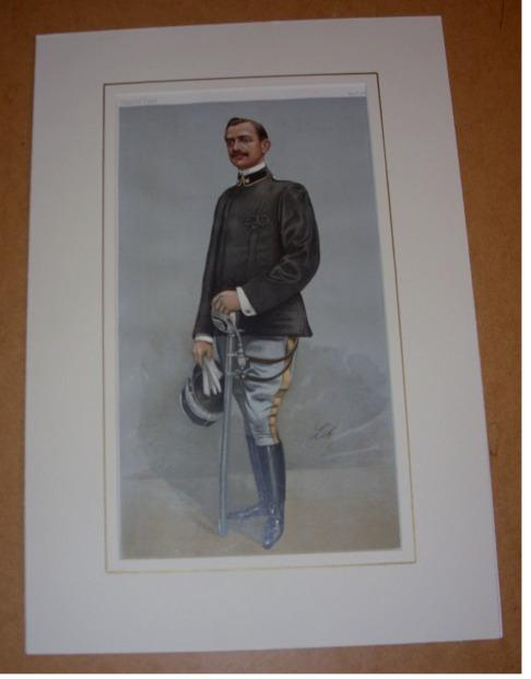 Image for ORIGINAL LITHOGRAPH by LIB: PRINCE EMANUELE FILIBERTO OF SAVOY, 2ND DUKE OF AOSTA. 12/11/1902. (Royalty)