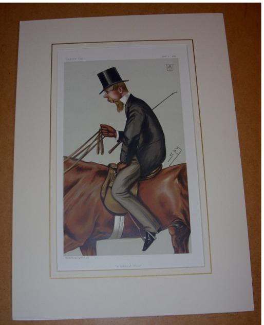 "Image for ORIGINAL LITHOGRAPH by SPY: HENRY THOMAS FOLEY, 5th Baron Foley  ""a liberal peer"". 2/12/1882. (Politics)"