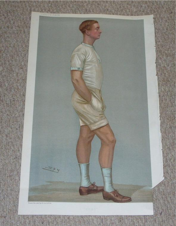 "Image for ""C.U.B.C."" ORIGINAL LITHOGRAPH by Spy. Men of the Day. - No.DCCLXXVII. William Dudley Ward."