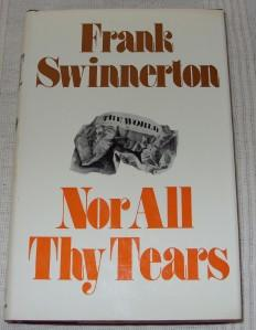 Image for Nor All Thy Tears.