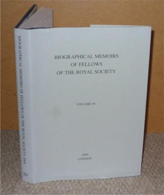 Image for Biographical Memoirs of Fellows of the Royal Society 2004, Vol. 50.
