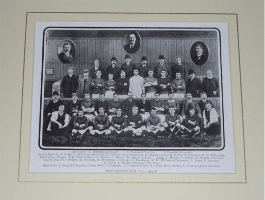 "Image for From: ""Association Football"". Middlesbrough F.C.,1905-6"