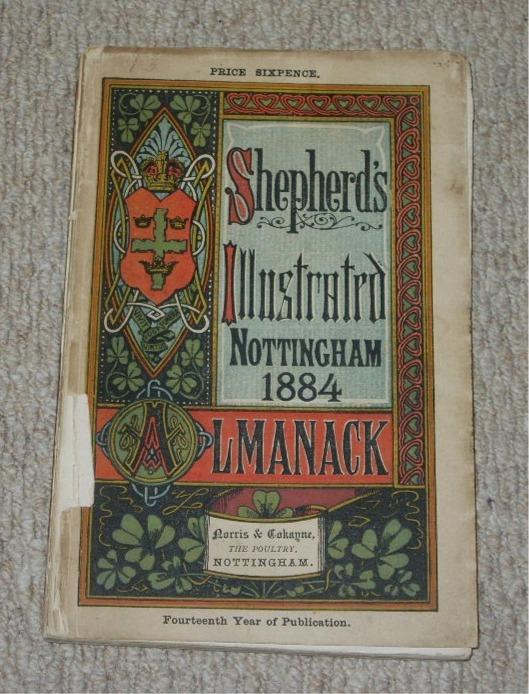 Image for Shepherd's Illustrated Almanack and Diary. Illustrated Nottingham Town and County. 1884.