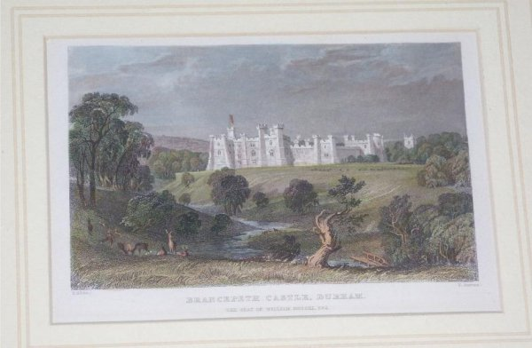 Image for BRANCEPETH CASTLE, DURHAM The Seat of William Russell, esq