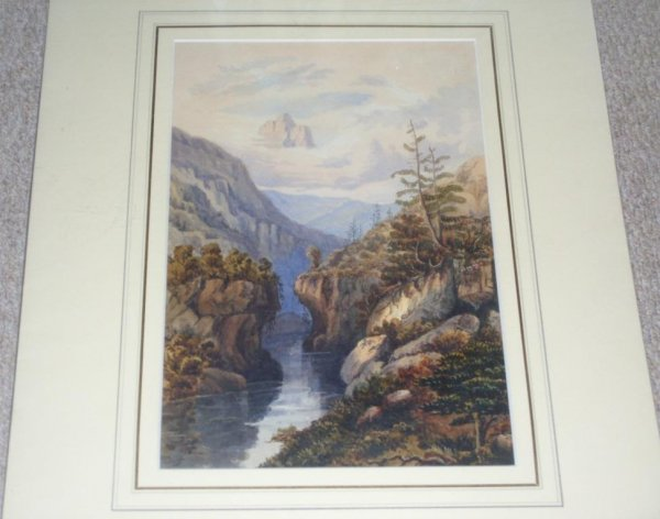 Image for ALPINE SCENE