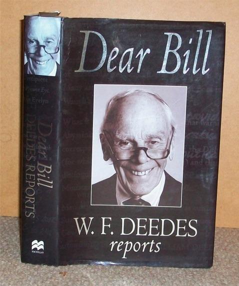 Image for Dear Bill. W.F.Deedes reports.