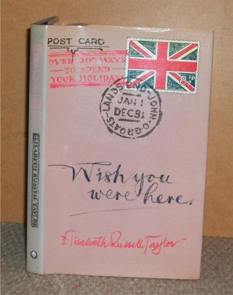 Image for Wish You Were Here. Signed copy.