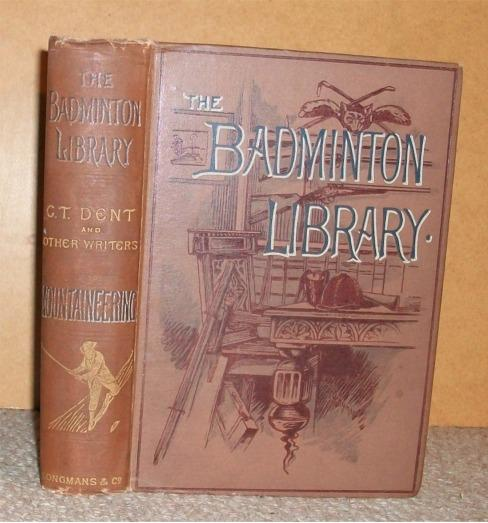 Image for MOUNTAINEERING. Badminton Library.