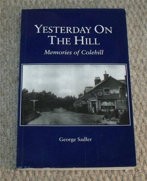 Image for Yesterday On The Hill. Memories of Colehill.