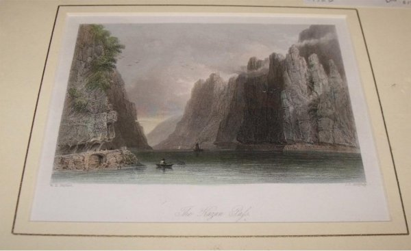 "Image for Attractive original steel engraving of the Kazan Pass. From ""The Beauties of the Bosphorus""."