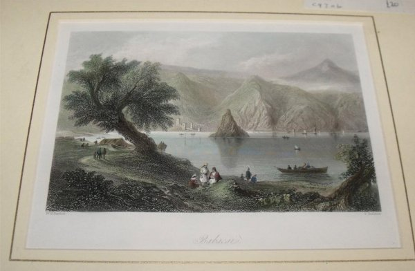 "Image for Attractive original steel engraving of Babacai. From ""The Beauties of the Bosphorus""."
