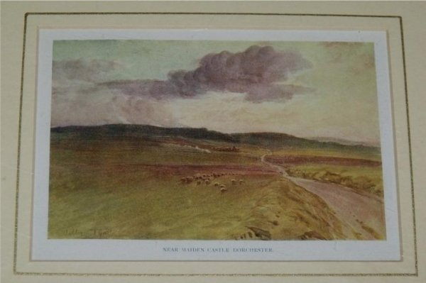 Image for Near Maiden Castle Dorchester. From the book, Wessex.