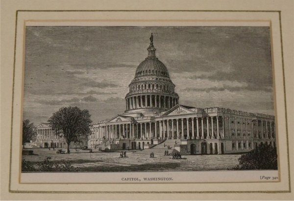 Image for Capitol, Washington. From Illustrated London News.