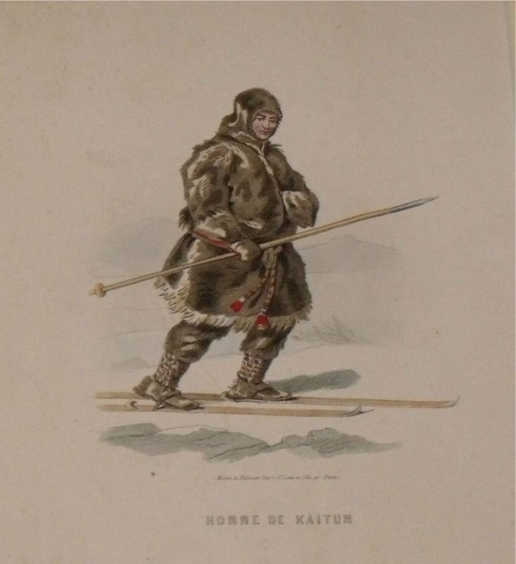 Image for Attractive original engraving of Homme de Kaitum. Man of Kaitum.