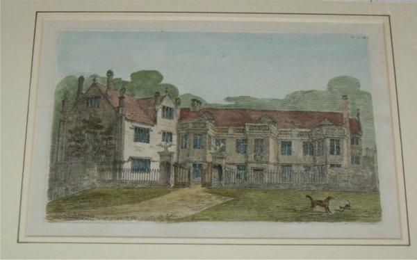 Mapperton House. Dorset.