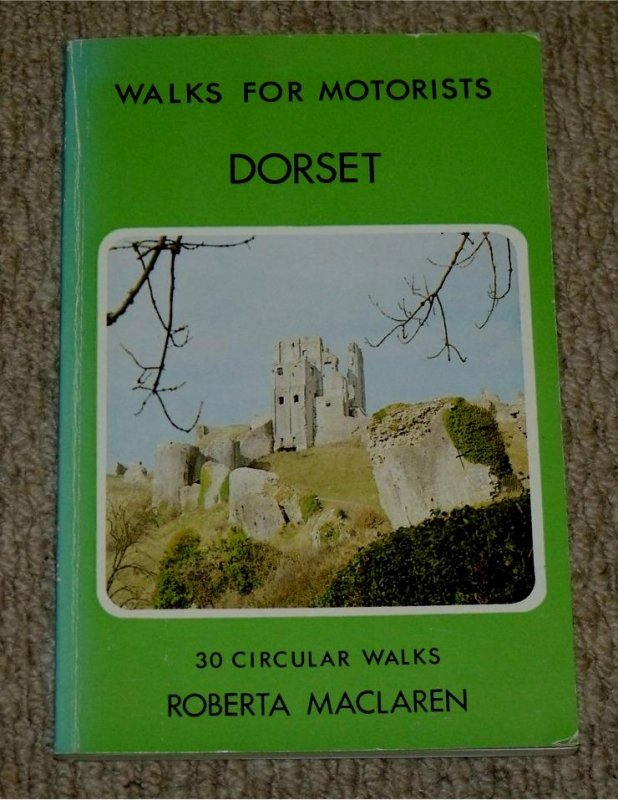 Image for Dorset. Walks for Motorists. Warne Gerrard Guides for Walkers.