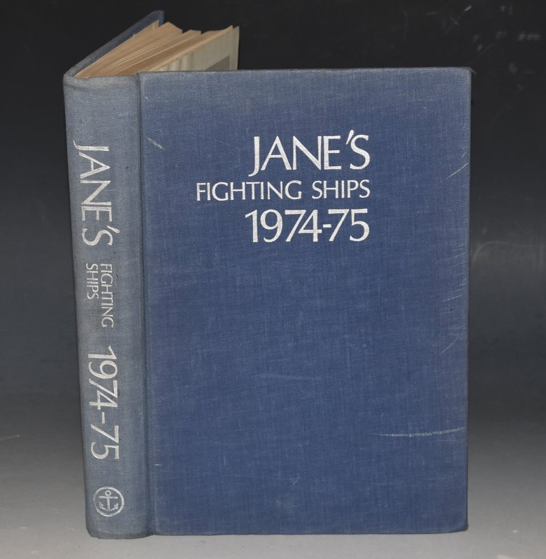 Image for Jane's Fighting Ships 1974-75.
