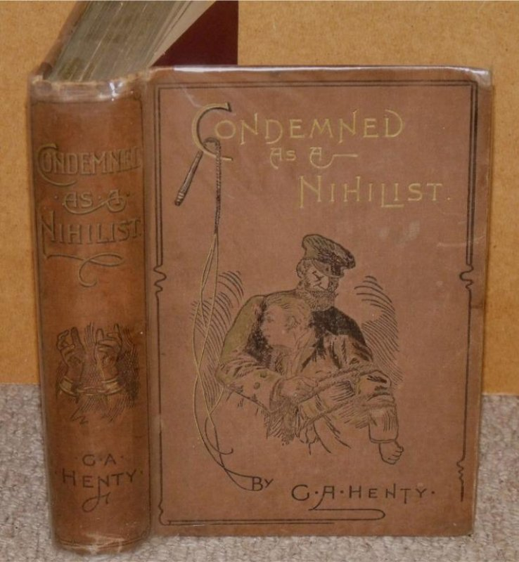 Image for Condemned as a Nihilist. A Story of Escape from Siberia.