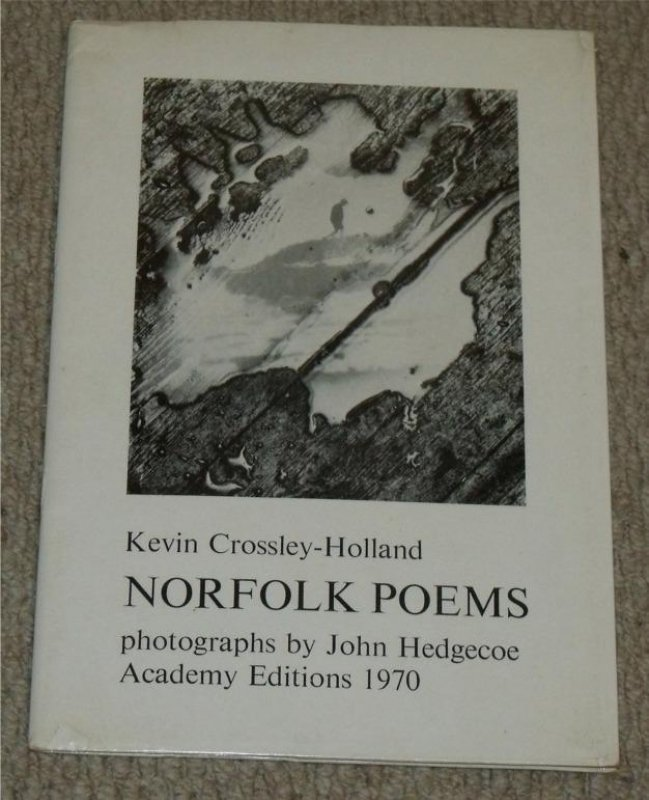Image for Norfolk Poems. photographs by John Hedgecoe. Signed copy.