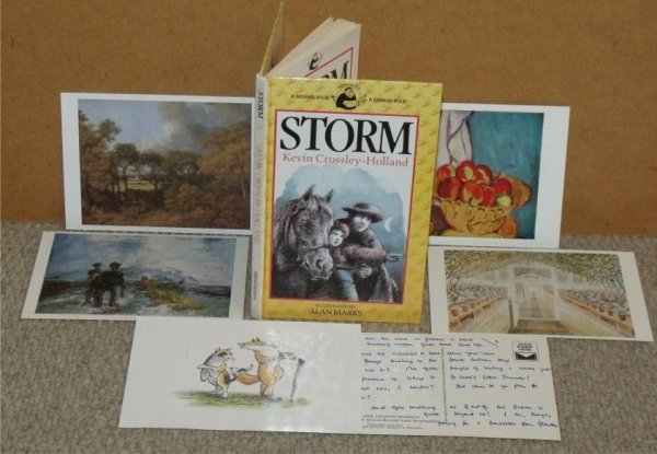 Image for Storm. A Banana Book. Illustrated by Alan Marks.