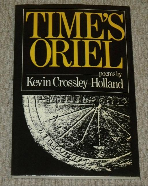 Image for Time's Oriel. Poems. Signed copy.