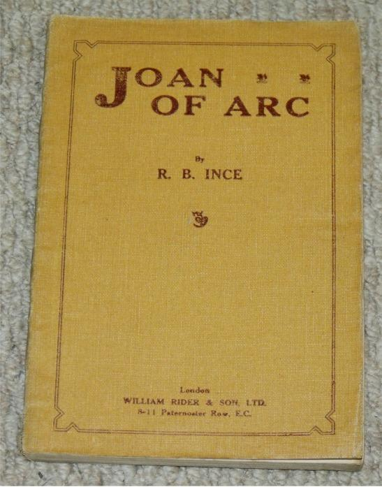 Joan of Arc. Signed copy.