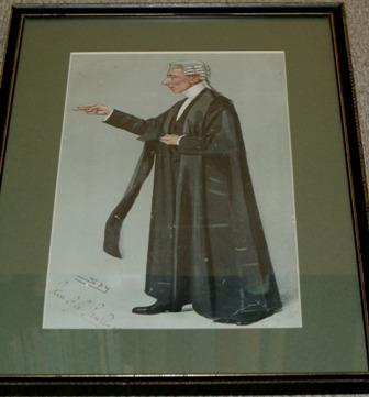 Image for John Frederick Peel Rawlinson Signed by the subject.