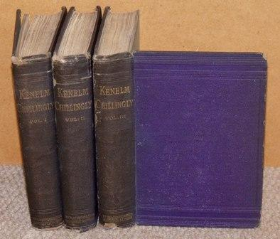 Image for Kenelm Chillingly His adventures and opinions. In three volumes.