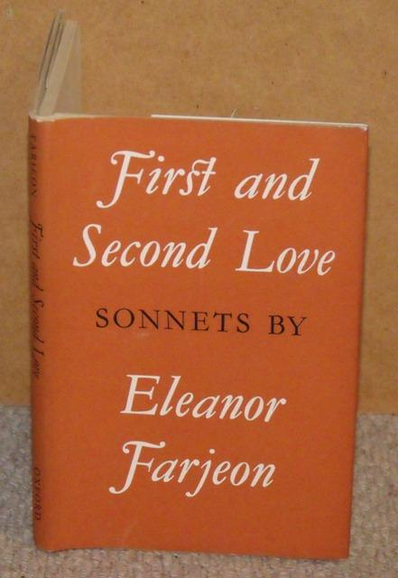 Image for First and Second Love. Sonnets.