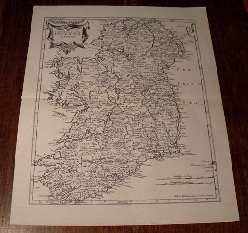 Image for The Kingdom of Ireland. Map of Ireland.
