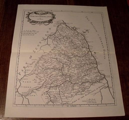 Image for Map of Northumberland.