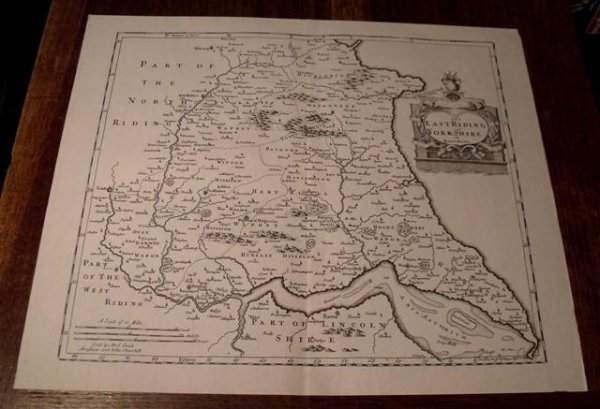 Image for Map of East Riding of Yorkshire.
