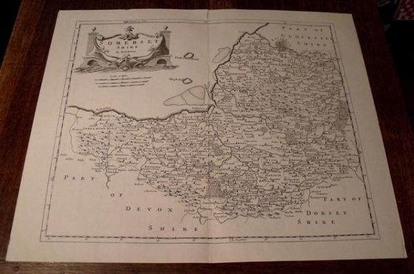 Image for Map of Somerset. Shire