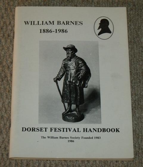 Image for William Barnes. 1801-1886 a handbook. Dorset Festival Handbook.