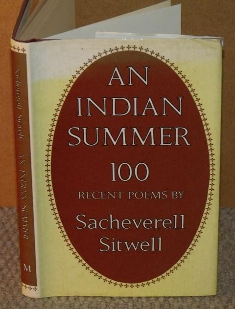 Image for An Indian Summer. 100 recent poems.