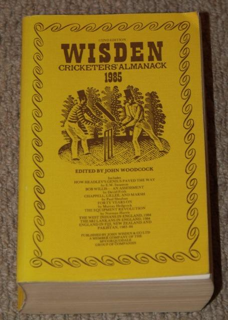 Image for Wisden Cricketers' Almanack 1985. 122nd edition.