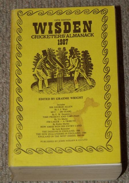 Image for Wisden Cricketers' Almanack 1987. 124th edition.