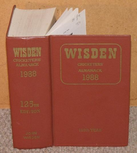 Image for Wisden Cricketers' Almanack 1988. 125th Year.