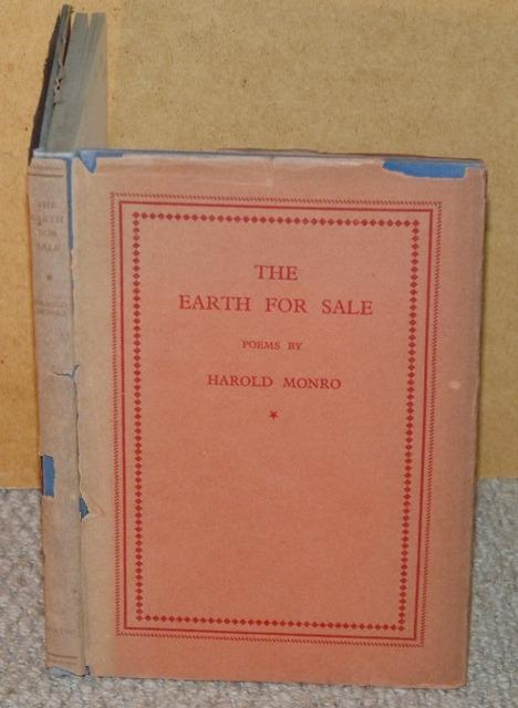 Image for The Earth For Sale. Poems by Harold Monro.