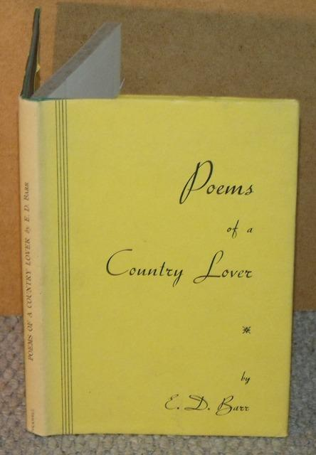 Image for Poems of a Country Lover.